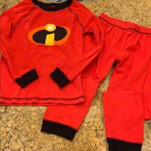 Disney Incredibles pajama set